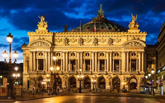 Romantisme à deux pas de l'Opéra