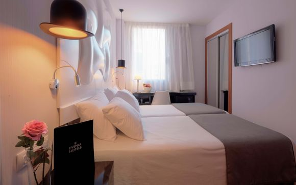 Poussez les portes de l'hôtel Evenia Rocafort