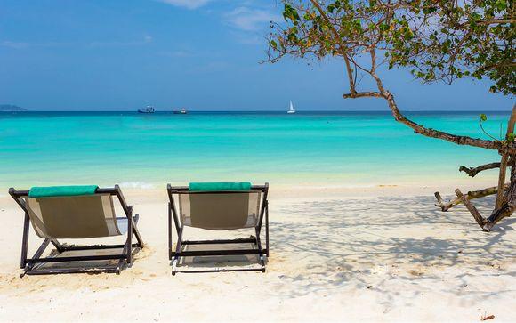 Combin� Kalima Resort, Holiday Inn Phi Phi et Pakasai Resort Krabi