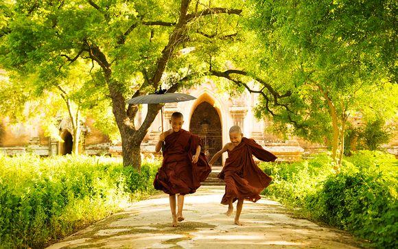 Voyage entre pagodes, temples et plages