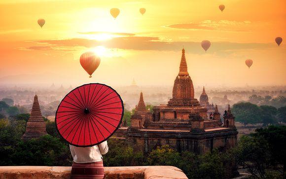 Circuit en groupe au Myanmar et extensions possibles