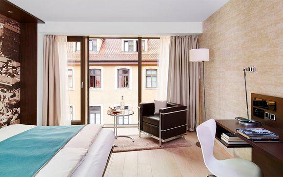 Hôtel Livinghotel Das Viktualienmarkt 4*