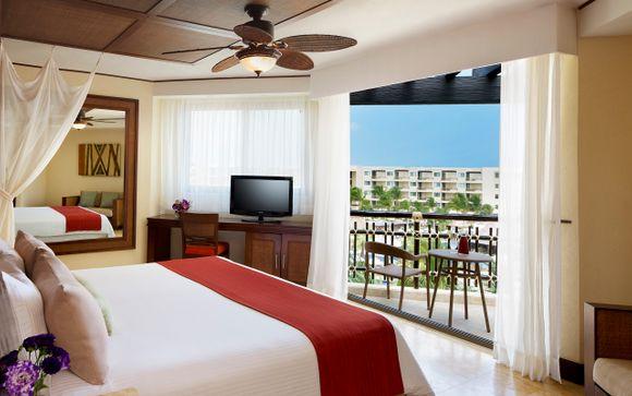 Poussez les portes de l'Hôtel Dreams Riviera Cancun 5*