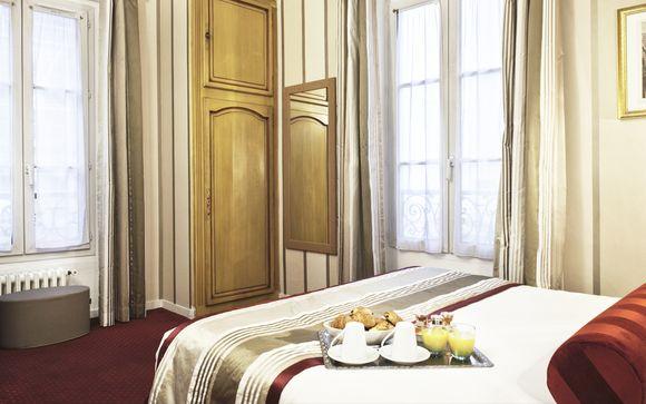 Poussez les portes de l'Hôtel Romance Malesherbes