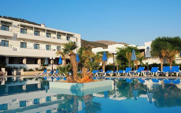 Poussez les portes du Kyknos Beach Hotel 4*