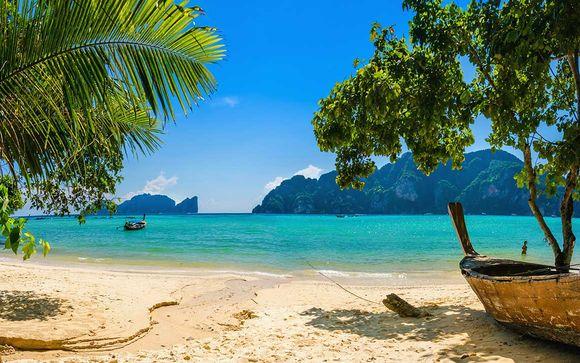 Parenthèse tropicale sur une plage de rêve