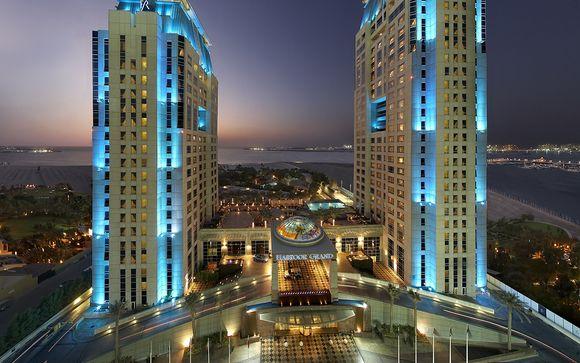 La marina et du quartier piétonnier the walk jumeirah beach residence ce resort vous offre un emplacement idéal au cœur du quartier branché de dubai