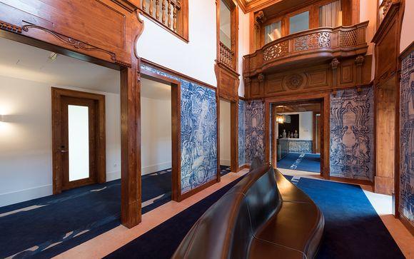 Poussez les portes de l'Hôtel Palacio Do Governador 5*