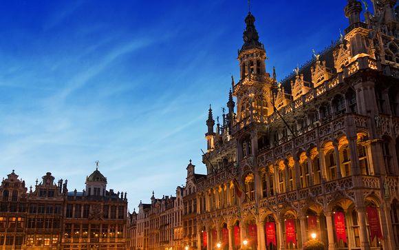 Belgique Bruxelles - Hôtel Warwick Barsey 4* à partir de 58,00 €