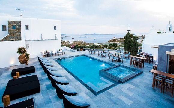 Propriété raffinée avec vue sur la mer Egée
