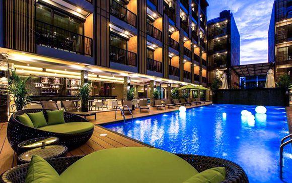 Poussez les portes de l'hôtel Glow Ao Nang 4* à Krabi