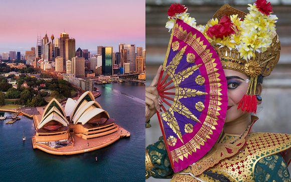 Combiné Australie et Bali avec Qatar Airways
