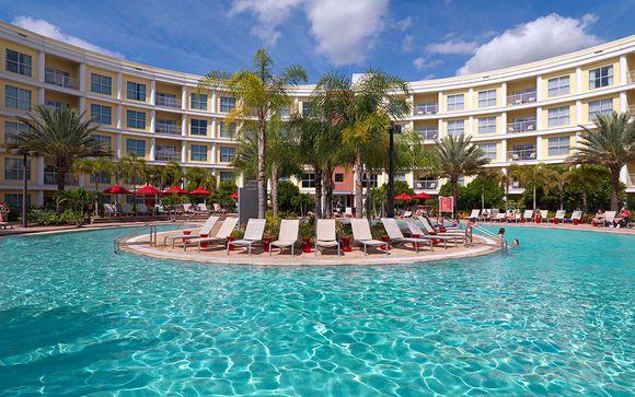 Meliá Orlando Suite Hotel at Celebration 4* et extension possible en Jamaïque