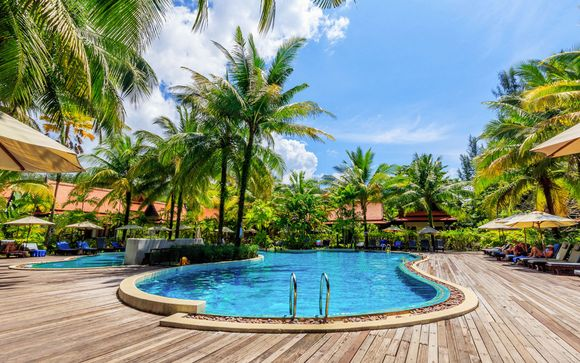 Hôtel Khaolak Bhandari 4* et séjour possible à Bangkok