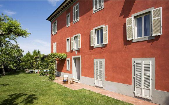 Poussez les portes de la Villa Cassia di Baccano 4*