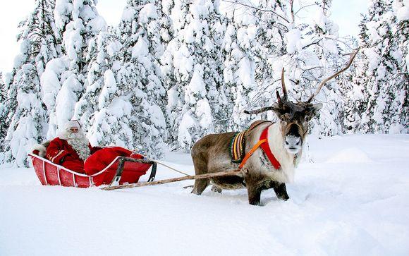 Avec vos enfants au pays du Père Noël