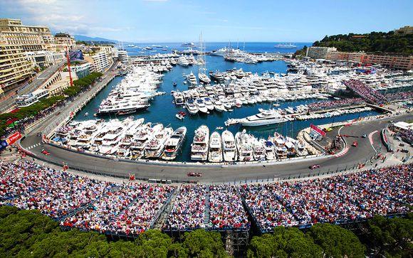 Grand Prix de Formule 1 de Monaco et h�tel Aston La Scala 4*