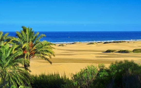Détente sur la Playa del Inglès