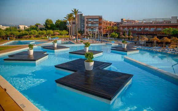 Coralia Les Oliveres 4* & possibilité d'entrée au PortAventura