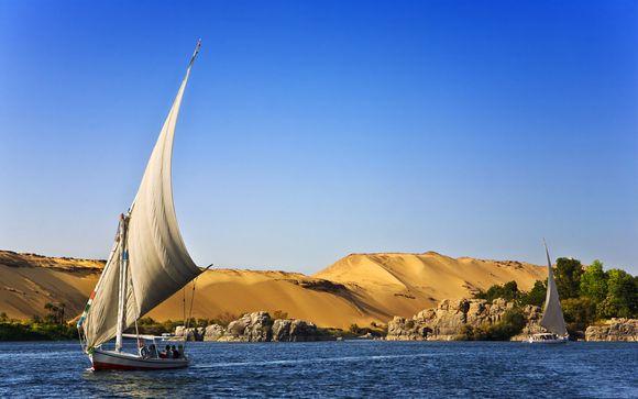 Croisière Parcours des Pharaons et combiné Jaz Aquamarine Resort 5*