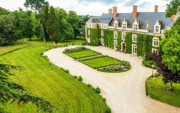 Vie de château en bord de Loire