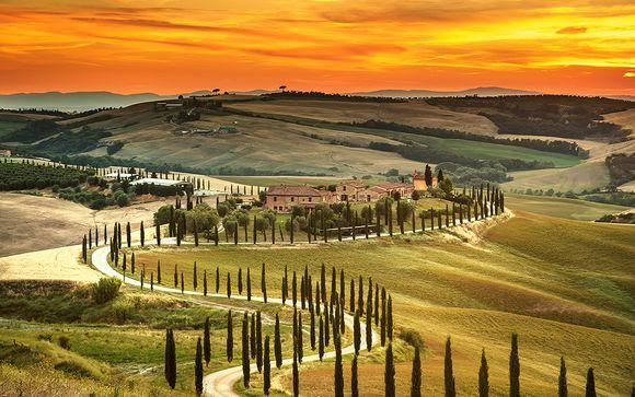 Tour enchanté de la Toscane