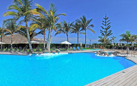 Resort familial avec vue sur l'océan
