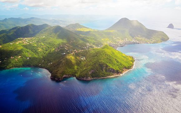 �couverte de la Martinique depuis l'Anoli Village