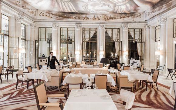 Restaurant Le Dal� au Meurice par Alain Ducasse
