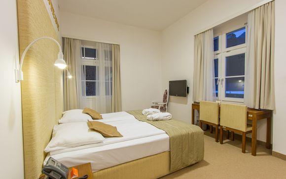 Poussez les portes de l'hôtel Rimski Dvor 4* à Rimske Toplice