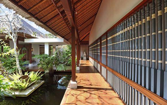 Poussez les portes de l'hôtel Sudamala Suites & Villas 5* Bali