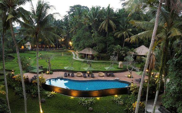 Poussez les portes de l'hôtel Plataran Ubud 5*