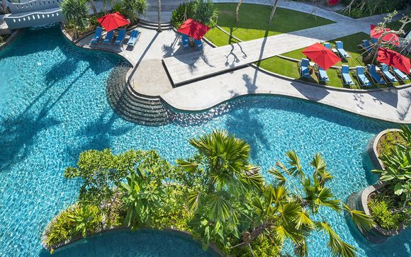 Poussez les portes de l'hôtel Méridien Bali Jimbaran 5*