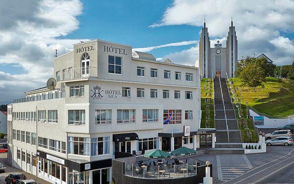 Poussez les portes de l'hôtel Kea Akureyri 4*