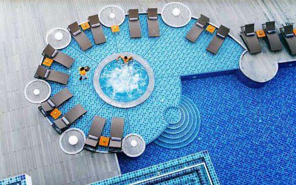 Poussez les portes de l'hôtel The Yama Phuket 4*