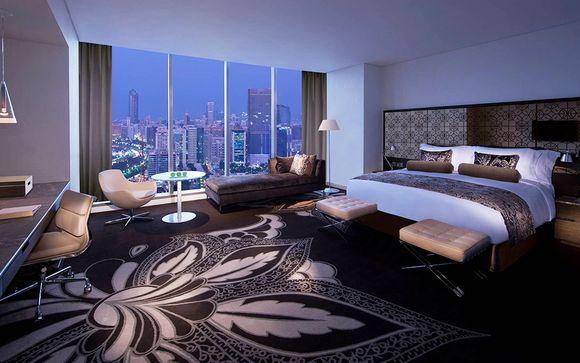 Poussez les portes du Jumeirah at Etihad Towers 5*