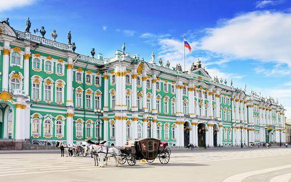 Zoom sur votre programme en 11 nuits au départ de Saint-Pétersbourg