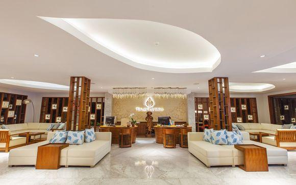 Poussez les portes de l'hôtel The Leaf Jimbaran 4*