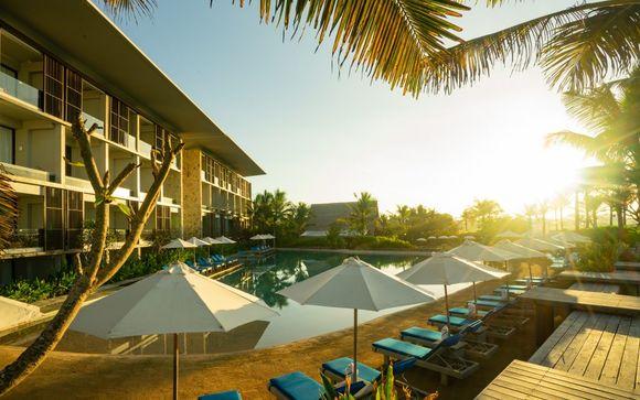 Poussez les portes de l'hôtel Wyndham Tamansari Jivva Resort Bali 5* à Klunkung