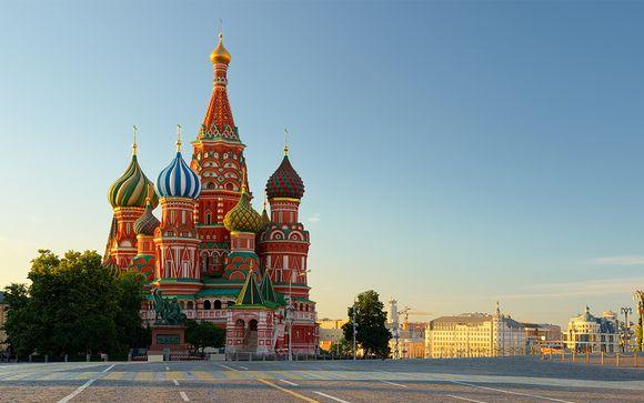 Zoom sur votre programme en 7 nuits au départ de Moscou