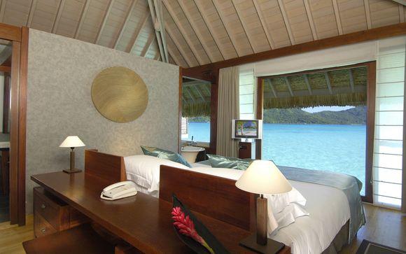 Poussez les portes de l'hôtel Intercontinental Thalasso Bora Bora et Spa 5*