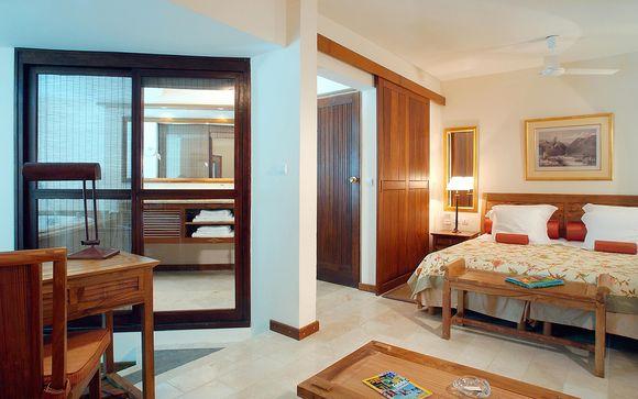 Poussez les portes de l'hôtel Le Saint-Alexis 4* à Saint-Gilles-les-bains