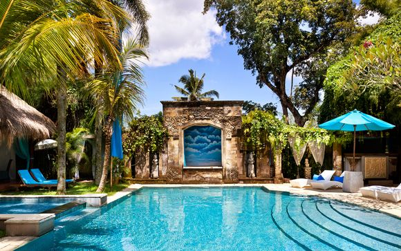 Poussez les portes de l'hôtel The Mansion Baliwood 5* à Ubud