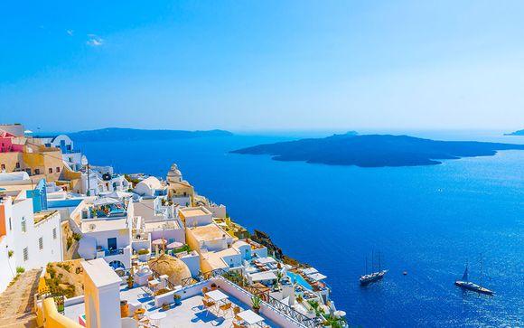 Zoom sur votre programme du circuit Santorin/Mykonos en 8 nuits