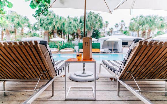 Poussez les portes de l'hôtel SLS South Beach 5* à Miami