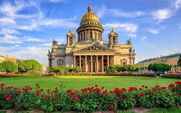 Circuit 4* Moscou et Saint-Pétersbourg en 7 nuits