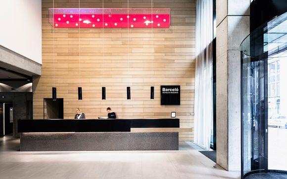 Poussez les portes de l'hôtel Barcelo Hamburg 4*