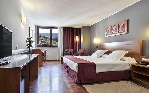 Poussez les portes de l'Hotel Acta Arthotel Andorra 4*