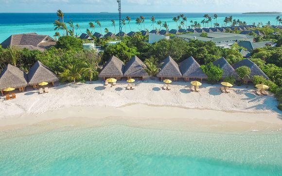 Hôtel Dhigufaru Island Resort 5* et escale à Dubai