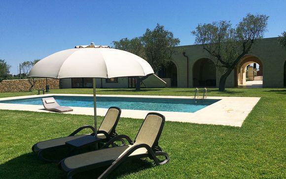 Poussez les portes de l'hôtel Masseria San Polo 4*